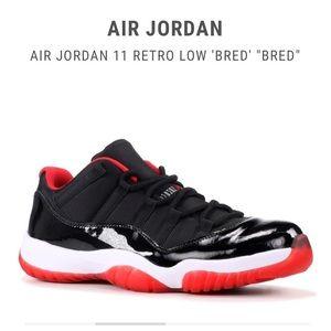 Air Jordan 11 Retro Low Bred AUTHENTIC